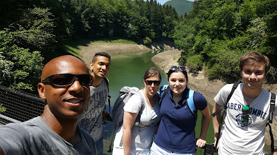 10km walk around the reservoir