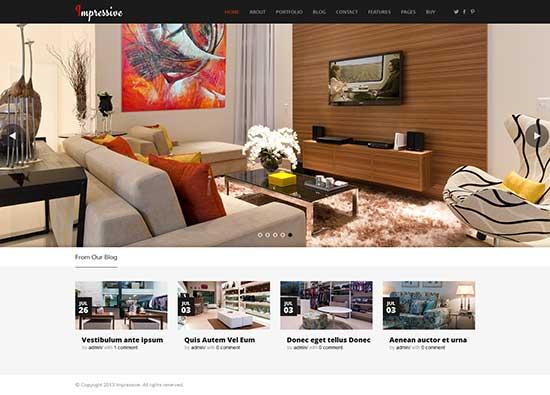 Furniture WordPress Themes Best Interior Design & Furniture Website WordPress Themes 2016 - Designsmag.org