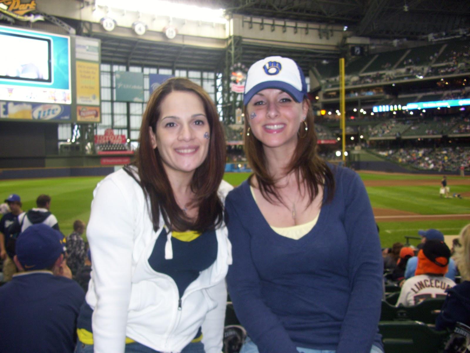 Traveling Baseball Babes Miller Park