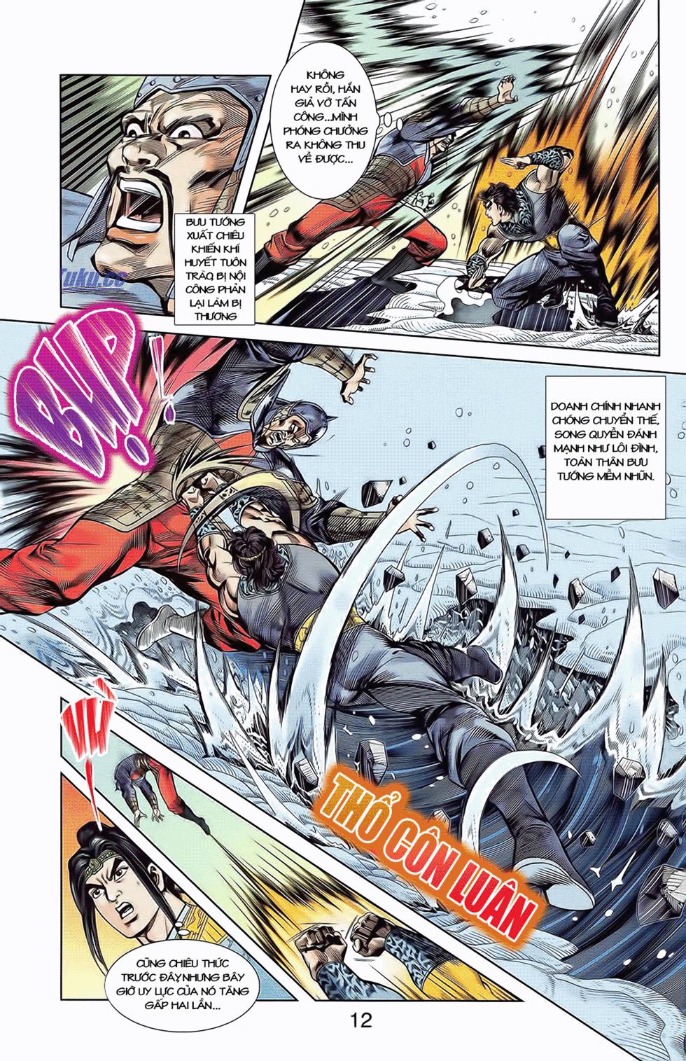 Tần Vương Doanh Chính chapter 9 trang 15