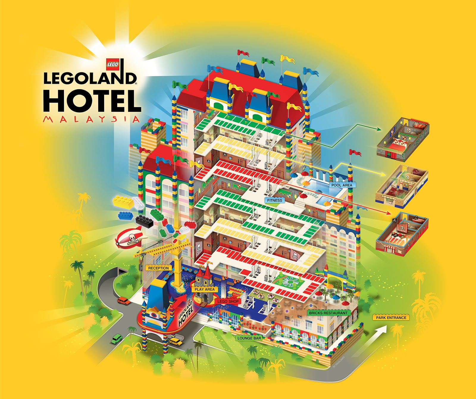 Hey Kids Welcome To Legoland Malaysia Themed Hotel