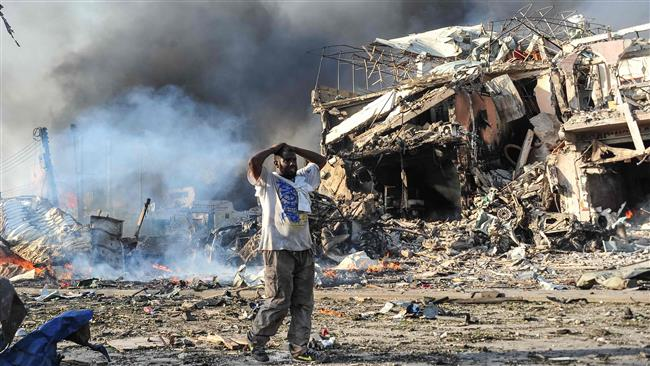 Death toll from twin blasts in Somalia's capital of Mogadishu rises to 231