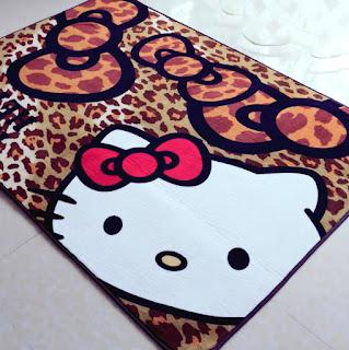Gambar Karpet Hello Kitty yang Lucu 6