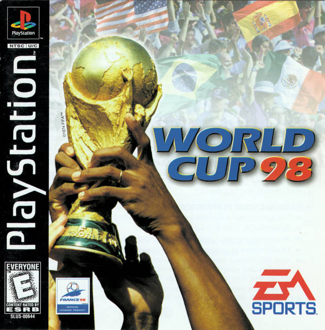 FIFA World Cup 98 - France 98 Soushuuhen (Japan) PS1   PS1,PSx,ROM