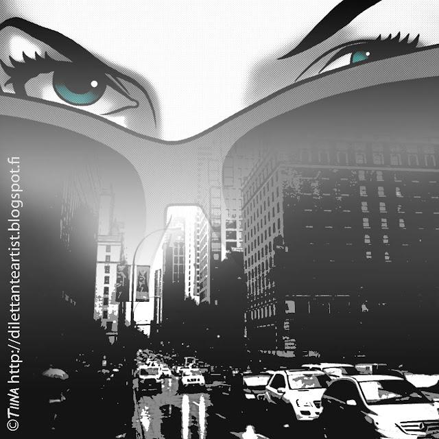 film noir illustration