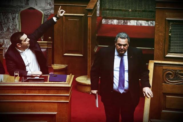 Γιατί ο ΣΥΡΙΖΑ εξακολουθεί να προστατεύει τον Π. Καμμένο;