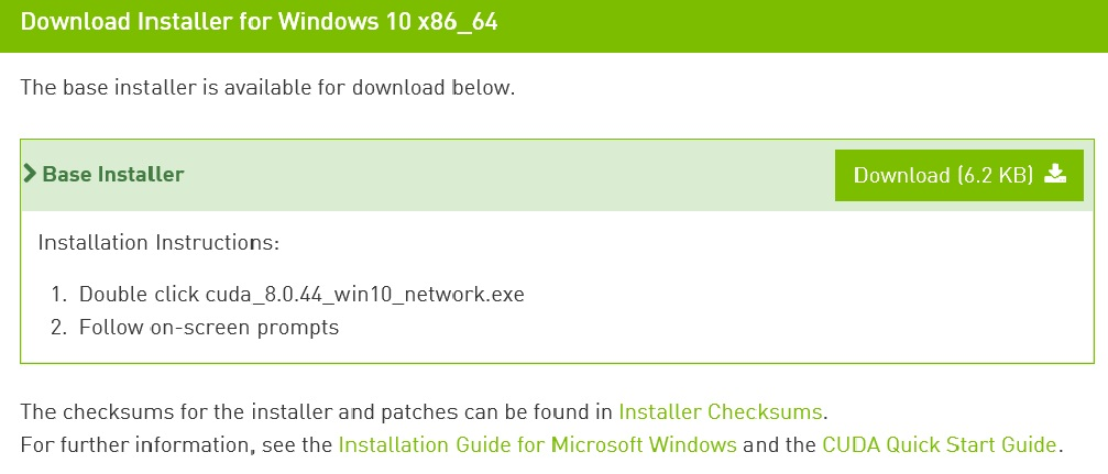 install tensorflow windows gpu