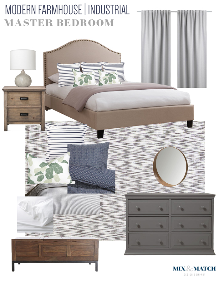 E Design Project Philadelphia Suburbs Master Bedroom Plan