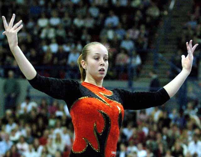Artistic gymnast Verona Van the Law