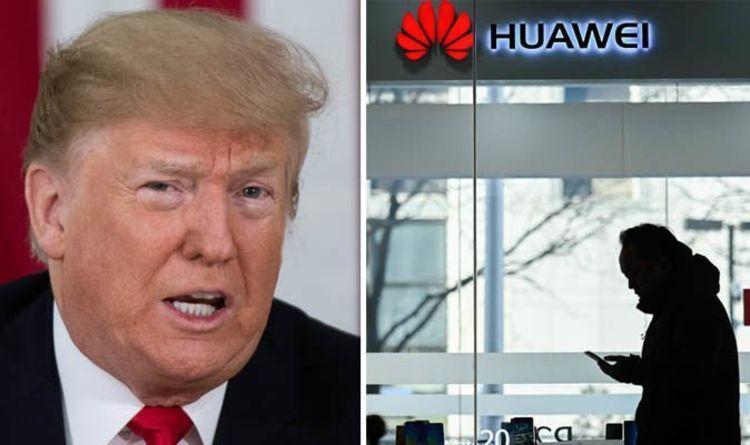 ترامب قد يوقع على طلب يحظر شركة هواوي فعليًا من الولايات المتحدة