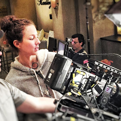 PLL behind the scenes episode 7x15 Troian Bellisario as director