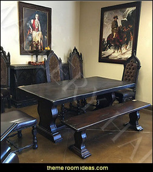 Solid Hardwood Pedestal Dining Table
