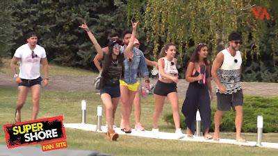 Los participantes llegan a la casa de MTV Super Shore 3