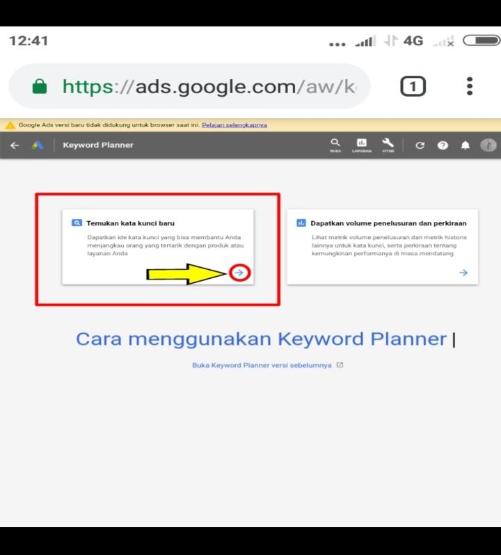 Cara Menggunakan Google Keyword Planner Gratis 2018 Lewat Hp Android T Ceo Sharelink
