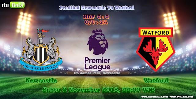 Prediksi Newcastle Vs Watford  - ituBola