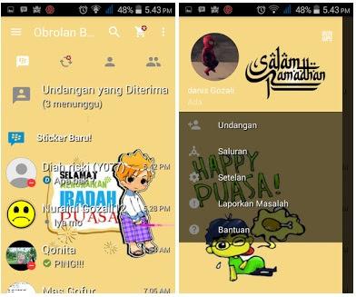 BBM MOD Speial Bulan Ramadan