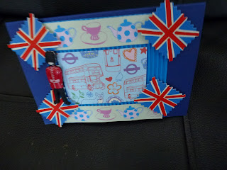 A Diamond Jubilee hand crafted card