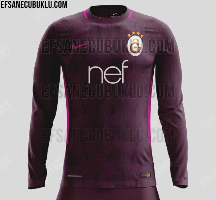 new style edefe 7907a FTH: Galatasaray 2017-18 Home, Away and Third Kit Leaked