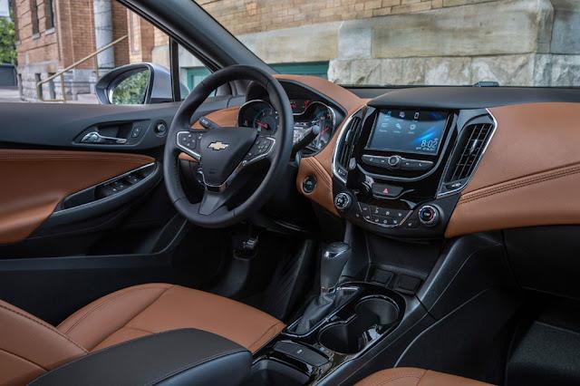2018 Chevrolet Cruze Diesel Interior