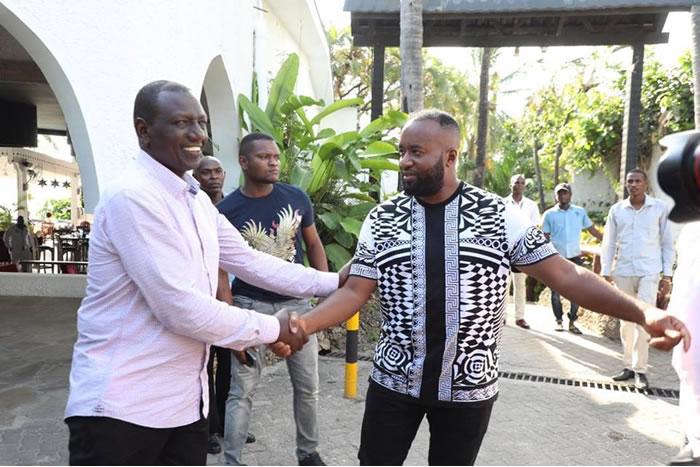 Powder Man Joho Takes Ruto's Camp To Court