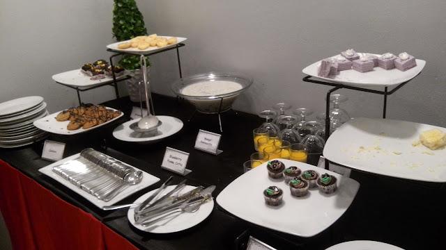 Dessert Section! Cakes, cupcakes, brownies, cookies, pana cotta (blueberry or mango), mango tapioca, maja blanca kalamansin tart and more!