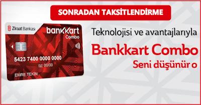 Ziraat Bankası Tek Çekim Taksitlendirme