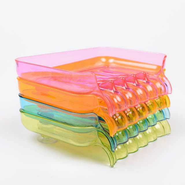 Waterfall Draining Soap & Sponge Holder