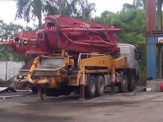 Sewa Pompa Beton / Concrette Pump Banten