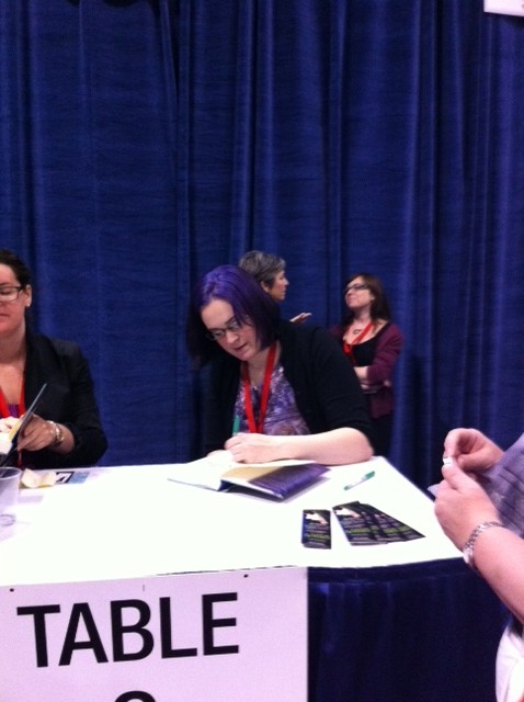 The Tattered Page Bookexpo America 2012