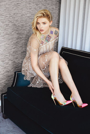Chloe Grace Moretz Glamour Magazine Mexico January 2016 Photo Shoot