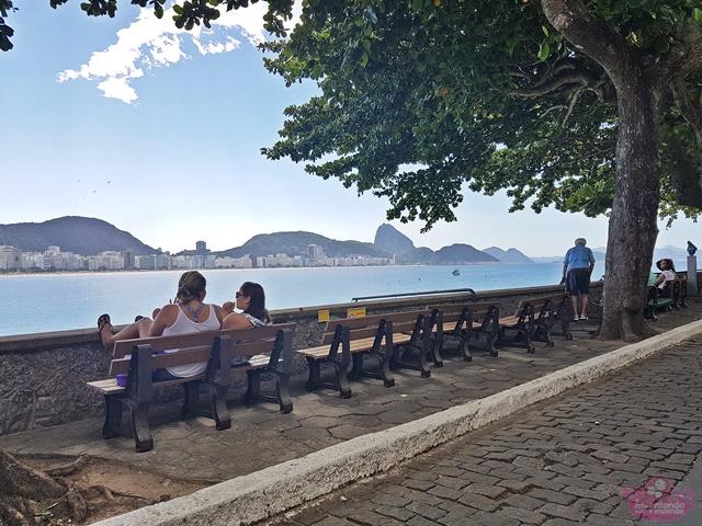 Onde tomar café da manhã no Rio de Janeiro - Forte de Copacabana