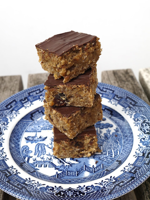 Gluten Free Date & Banana Energy Flapjack The Betty Stamp