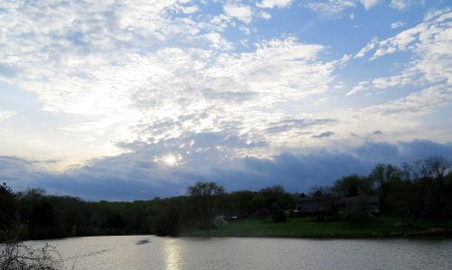 Lake Logan Ohio near Hocking Hills