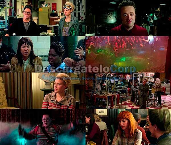Cazafantasmas 2016 DVDRip Español Latino