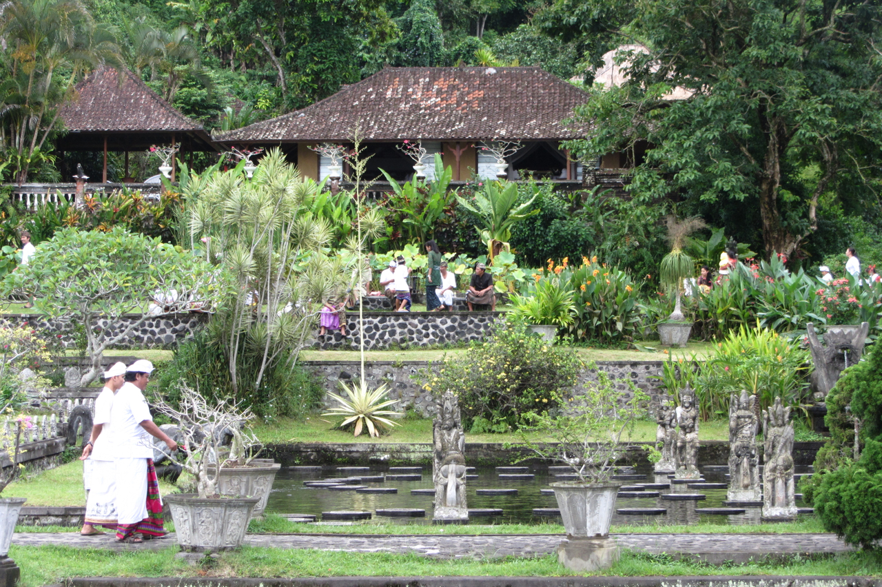 Tirta Gangga Royal Water Garden: BAVI World Tour!: Bali Blessings