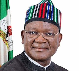 "Ortom says ""We advised Buhari not to rush back home"""