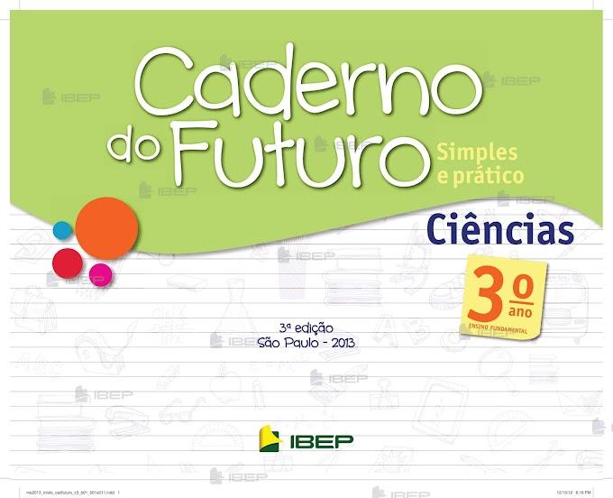 Caderno do Futuro Ciências 3º Ano Professor.
