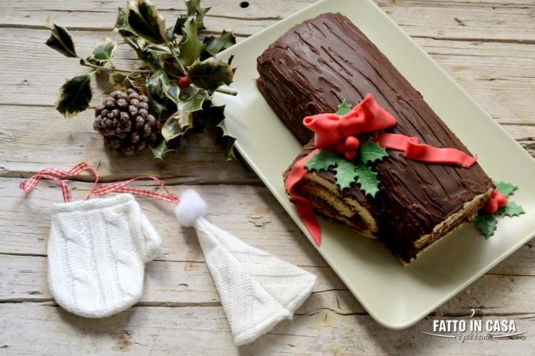 Tronchetto Di Natale Sale E Pepe.Fatto In Casa E Piu Buono