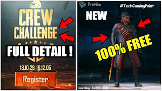 PUBG Crew Challenge 2019 [UPDATED] : FULL DETAILED GUIDE