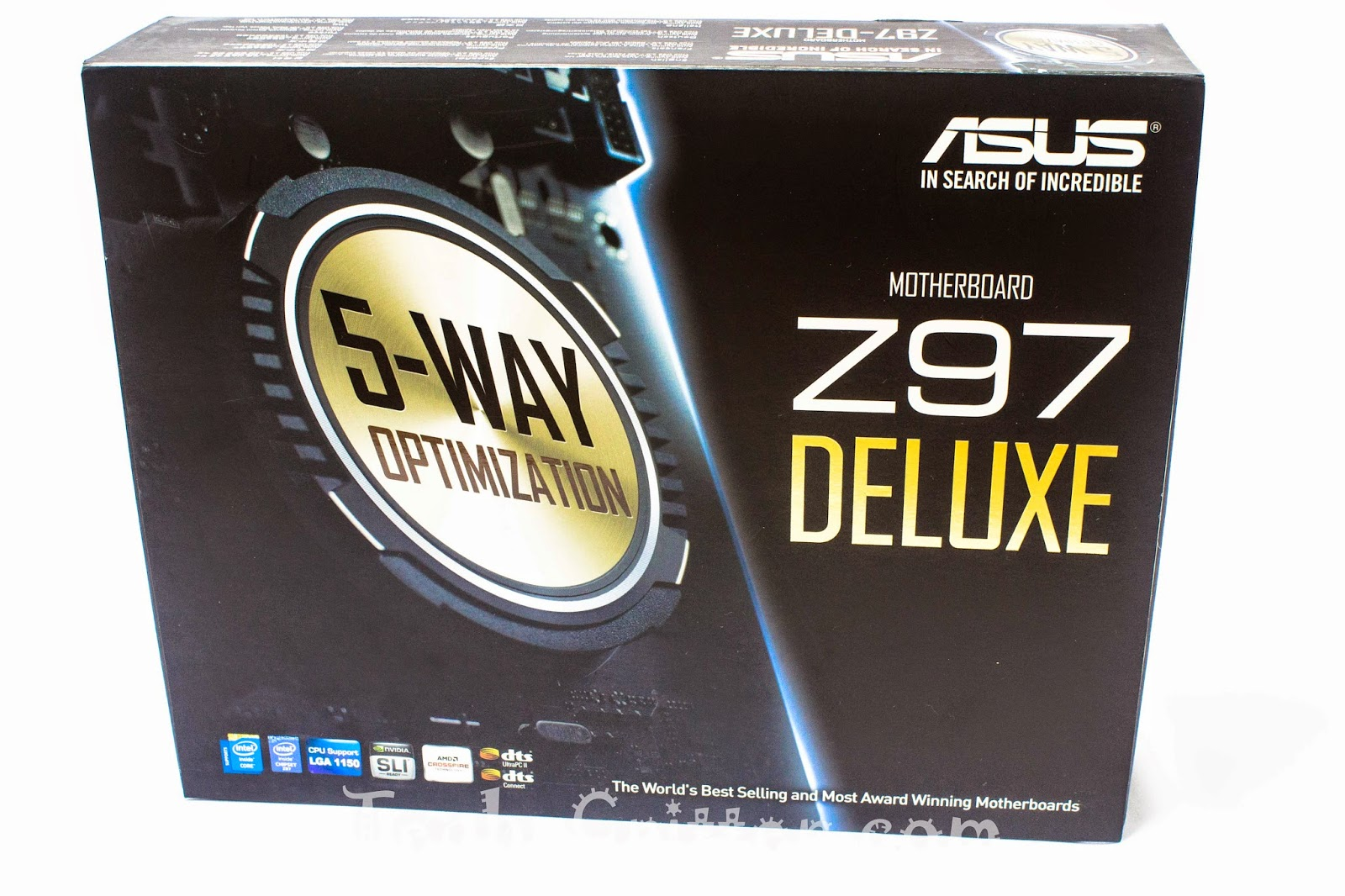 Unboxing & Review - ASUS Z97-Deluxe 156