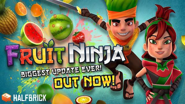 Mula Mainkan Ninja Cut Fruit!