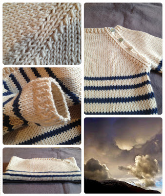 marinère coton bébé en coton safran Drops, Oeko-Tex