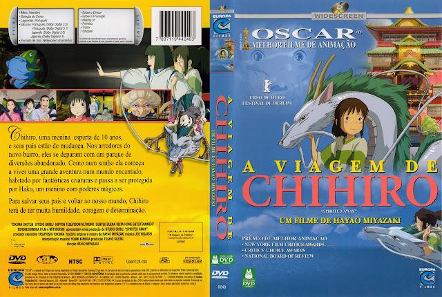 Capa DVD A VIAGEM DE CHIHIRO
