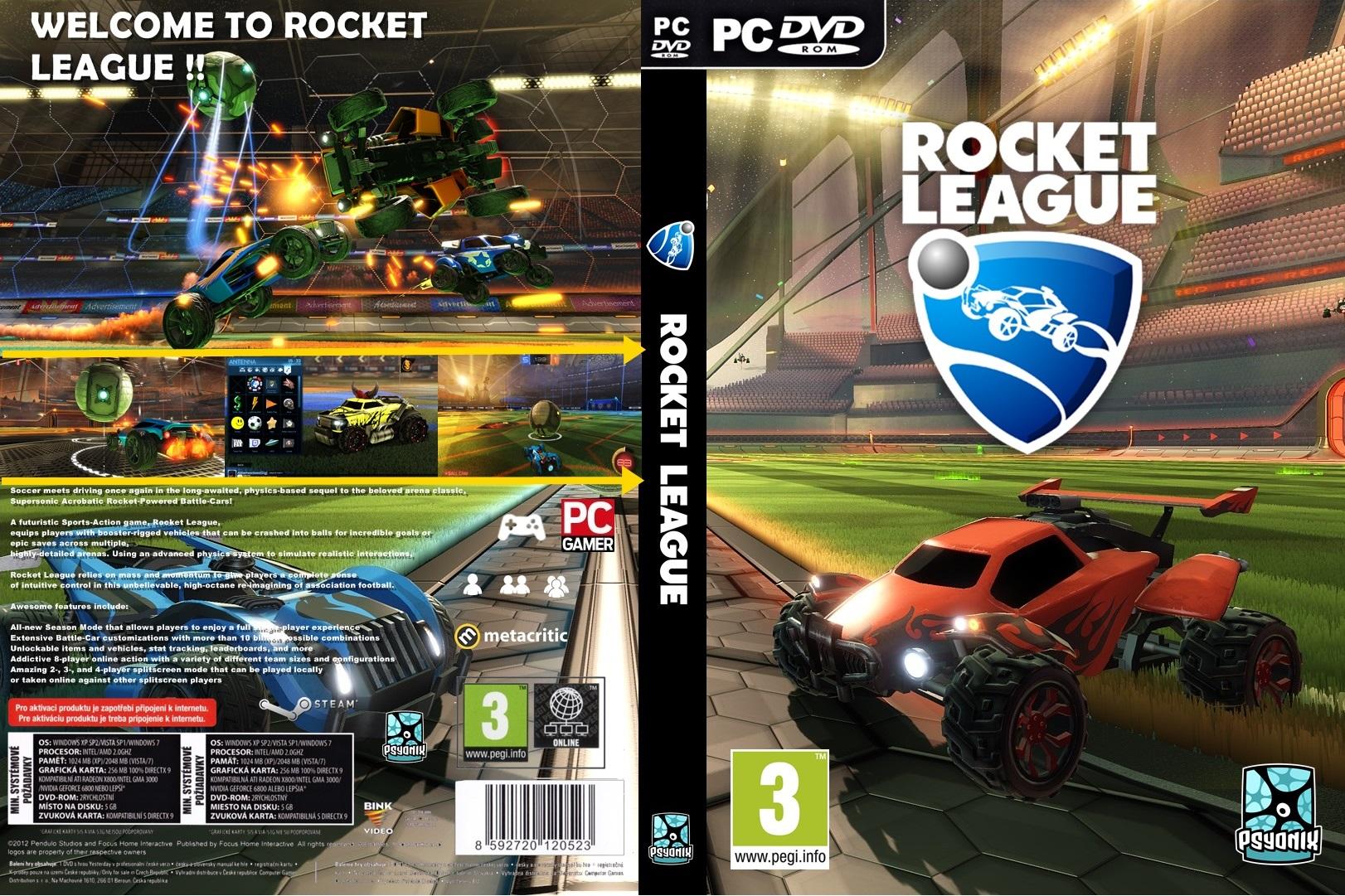 Rocket League PC Ultra Capas
