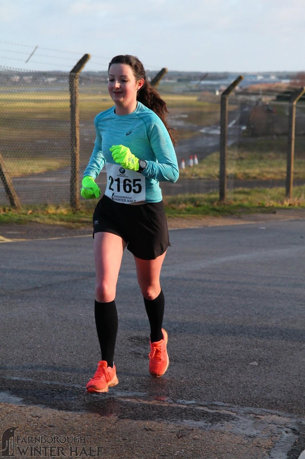 running Farnborough Half Marathon