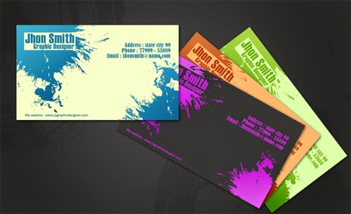 How To Make Creative Business Card Using Photoshop