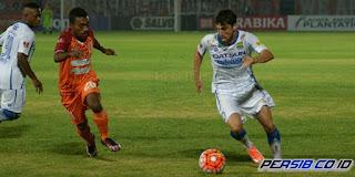 Persib Bandung vs Pusamania Borneo FC Imbang 0-0