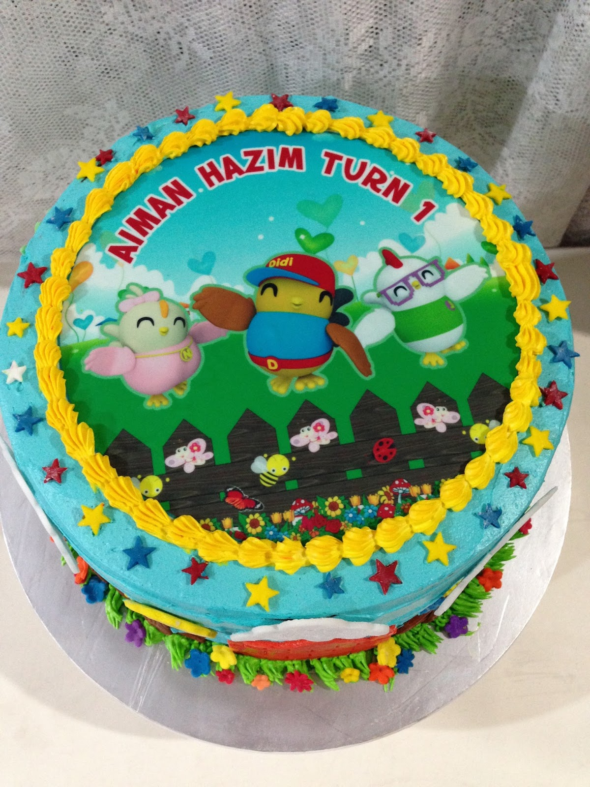 ninie cakes house: Didi & Friends Birthday Cake with ...