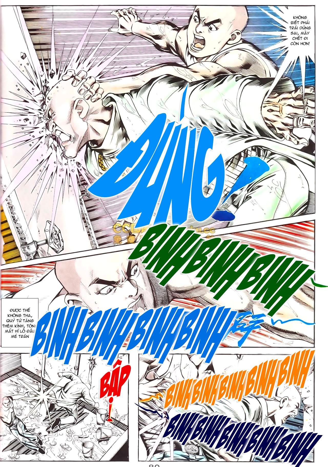 Người Trong Giang Hồ chapter 169: kết cục khủng long trang 6