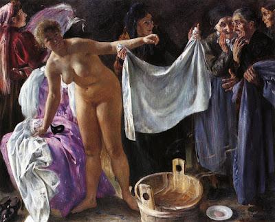 Lovis Corinth - sorcières,1897.